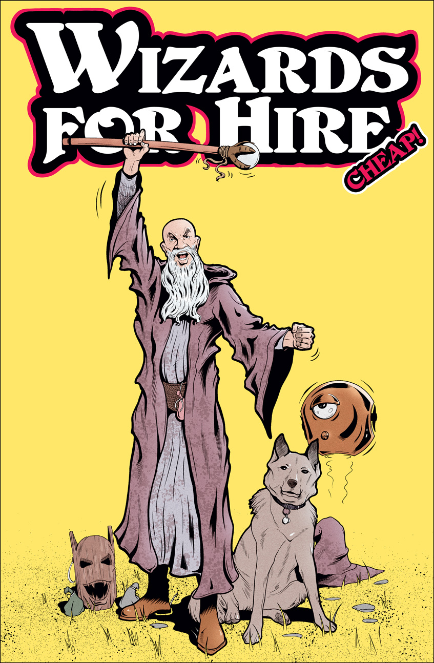 Wizards for Hire - Cheap Cover by Von Allan