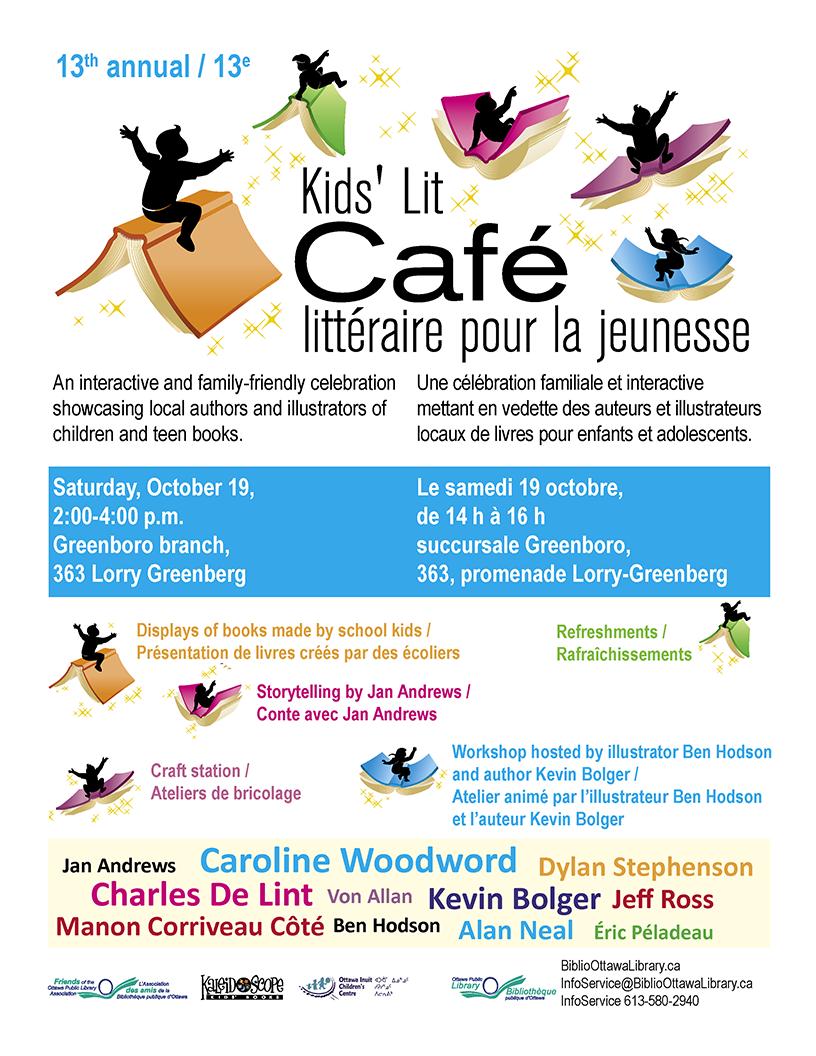 Ottawa Public Library Kids' Lit Gala 2013